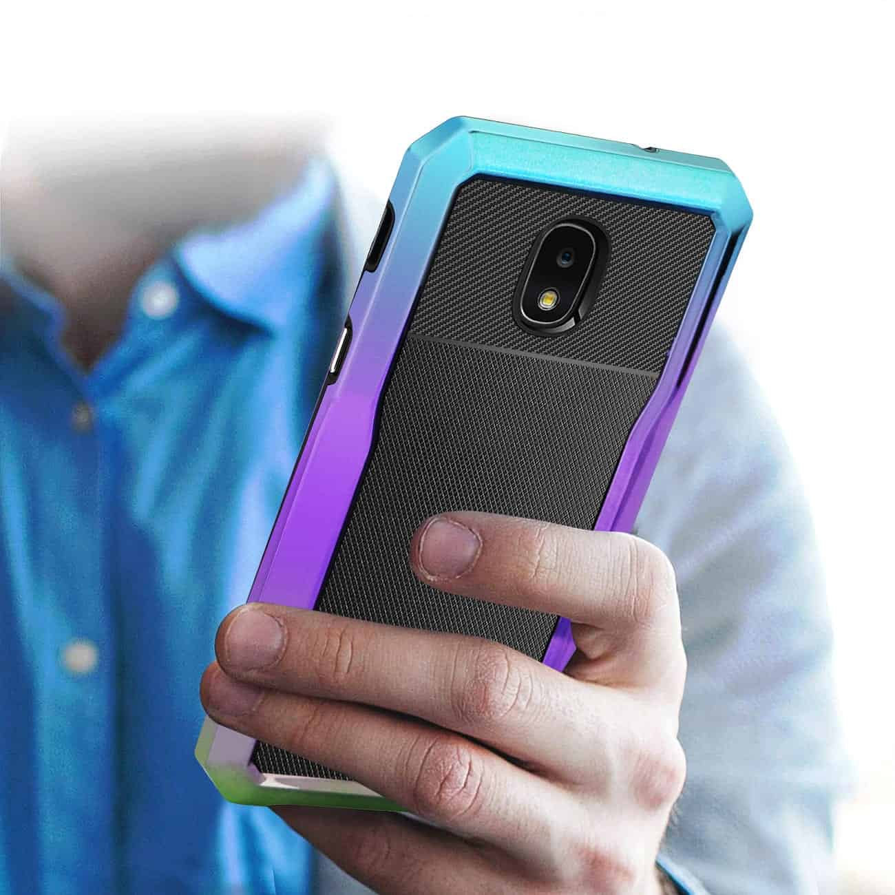 SAMSUNG GALAXY J3 (2018) Full Coverage Shockproof Case In Mix