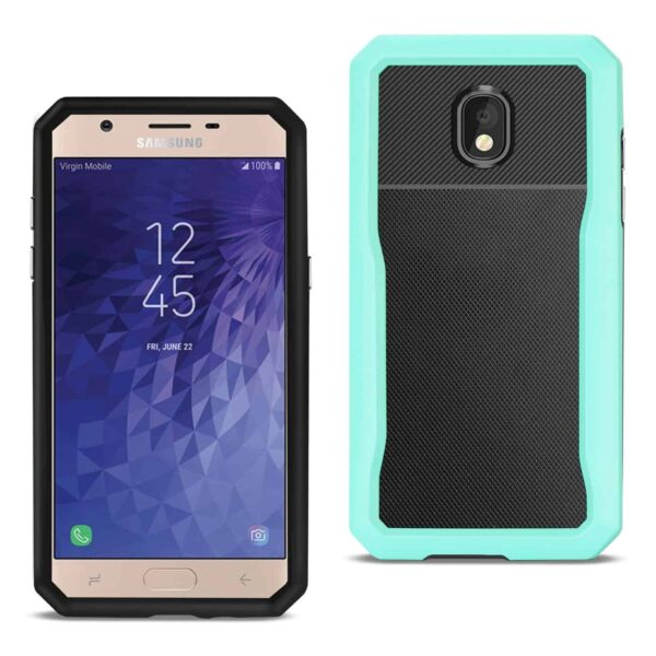 SAMSUNG GALAXY J7 (2018) Full Coverage Shockproof Case In Blue