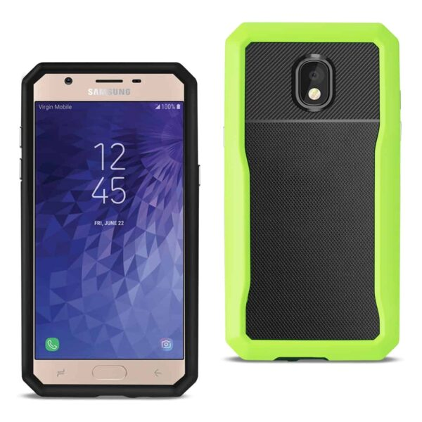 SAMSUNG GALAXY J7 (2018) Full Coverage Shockproof Case In Green