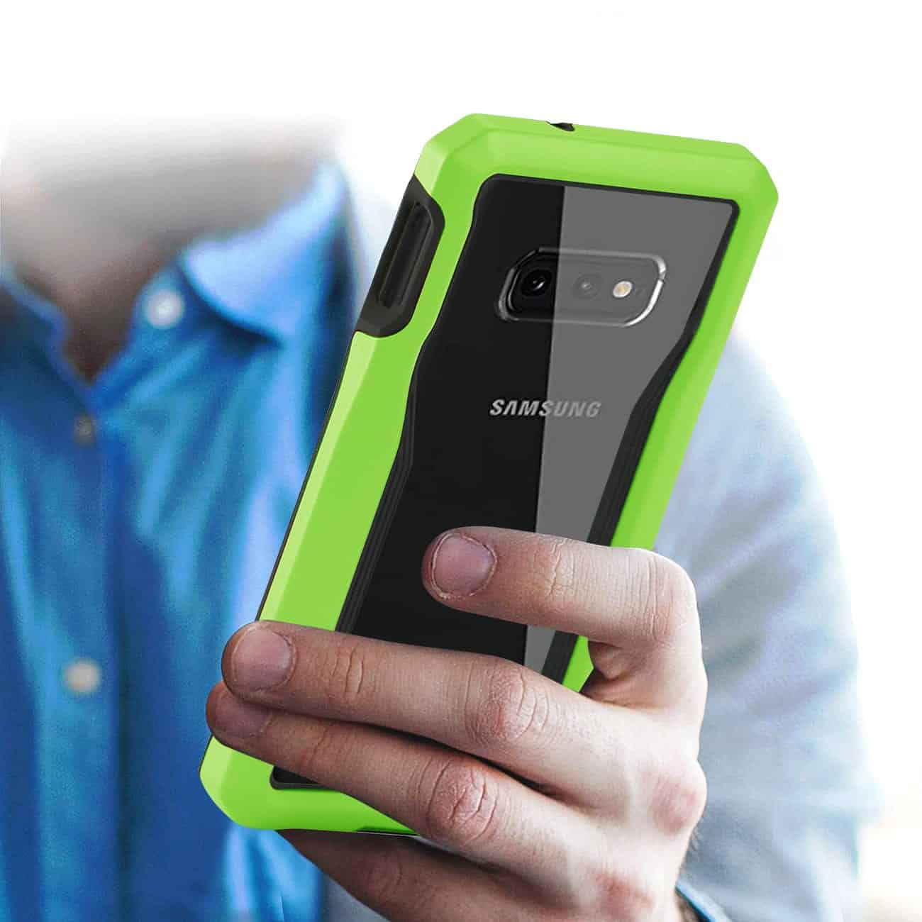SAMSUNG GALAXY S10 Lite Protective Cover In Green