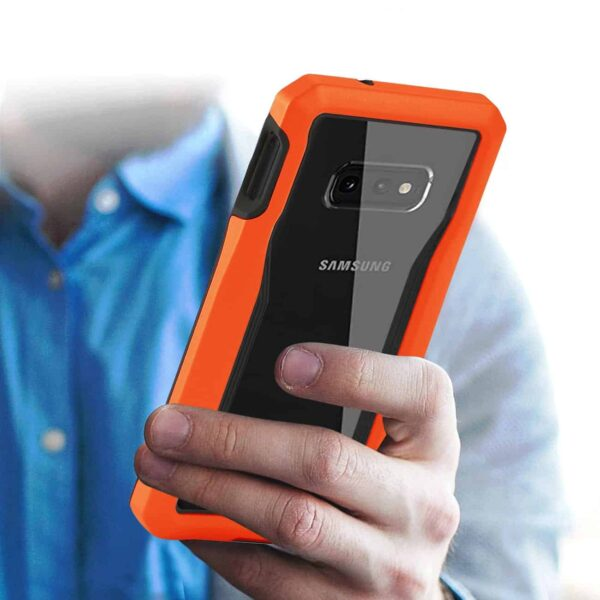 SAMSUNG GALAXY S10 Lite Protective Cover In Orange