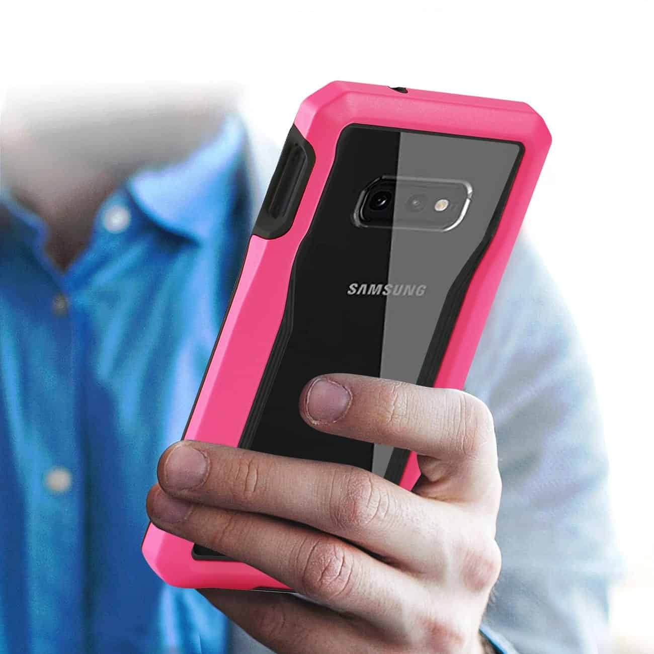 SAMSUNG GALAXY S10 Lite Protective Cover In Pink