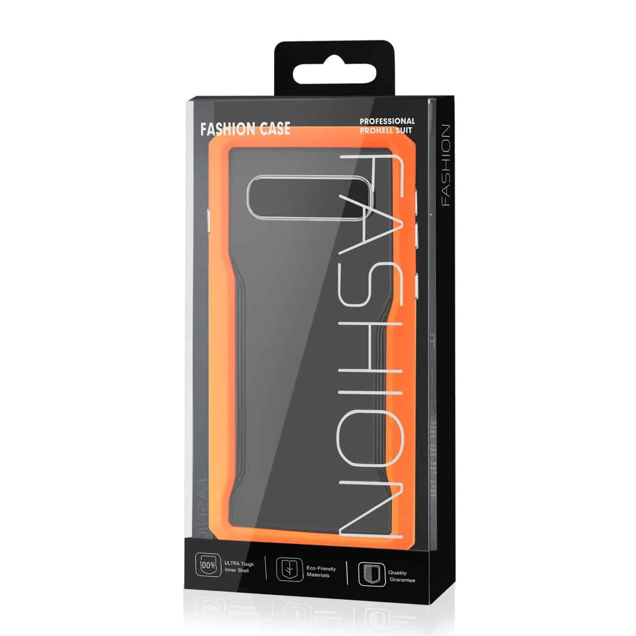 SAMSUNG GALAXY S10 Protective Cover In Orange