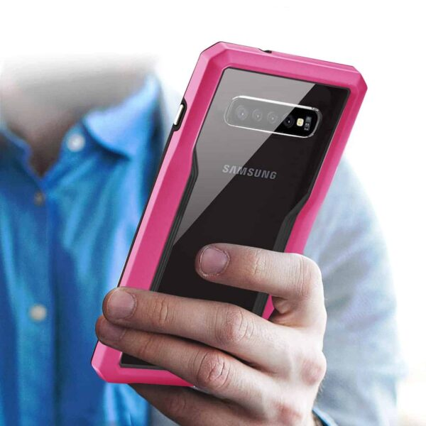 SAMSUNG GALAXY S10 Protective Cover In Pink