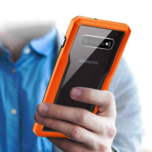 SAMSUNG GALAXY S10 Plus Protective Cover In Orange