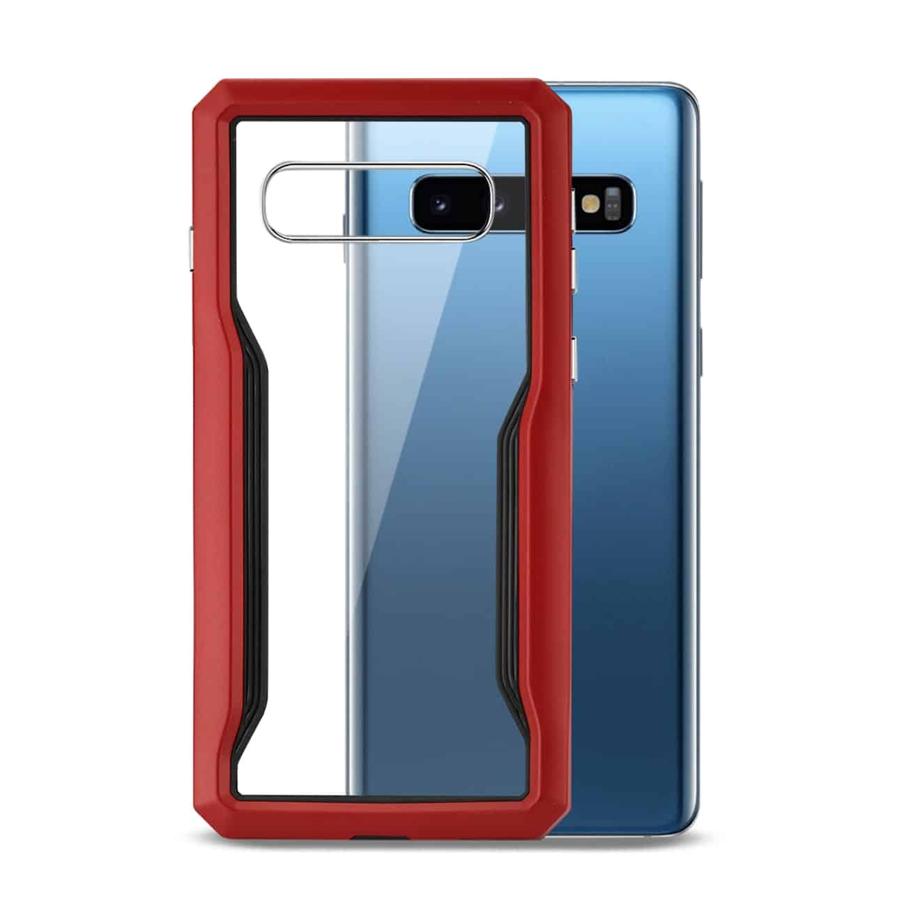SAMSUNG GALAXY S10 Plus Protective Cover In Red