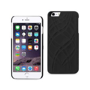 IPHONE 6 PLUS/ 6S PLUS HIDDEN MIRROR WALLET CASE WITH KICKSTAND FUNCTION IN BLACK