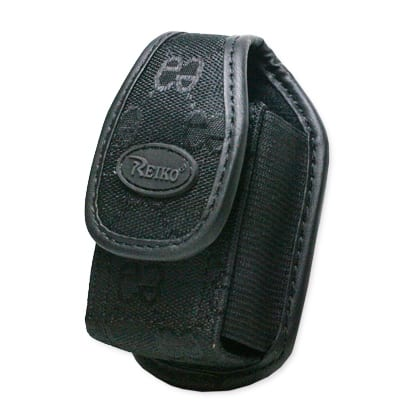 VERTICAL RUGGED POUCH PH01 S BLACK DOUBLE E 3.5X1.9X0.9 INCHES