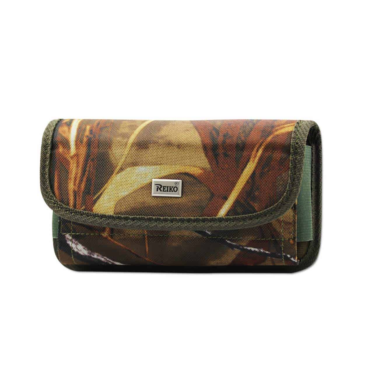 Horizontal Rugged Pouch With Velcro In Camouflage (3.5X2.1X1.1 Inches)