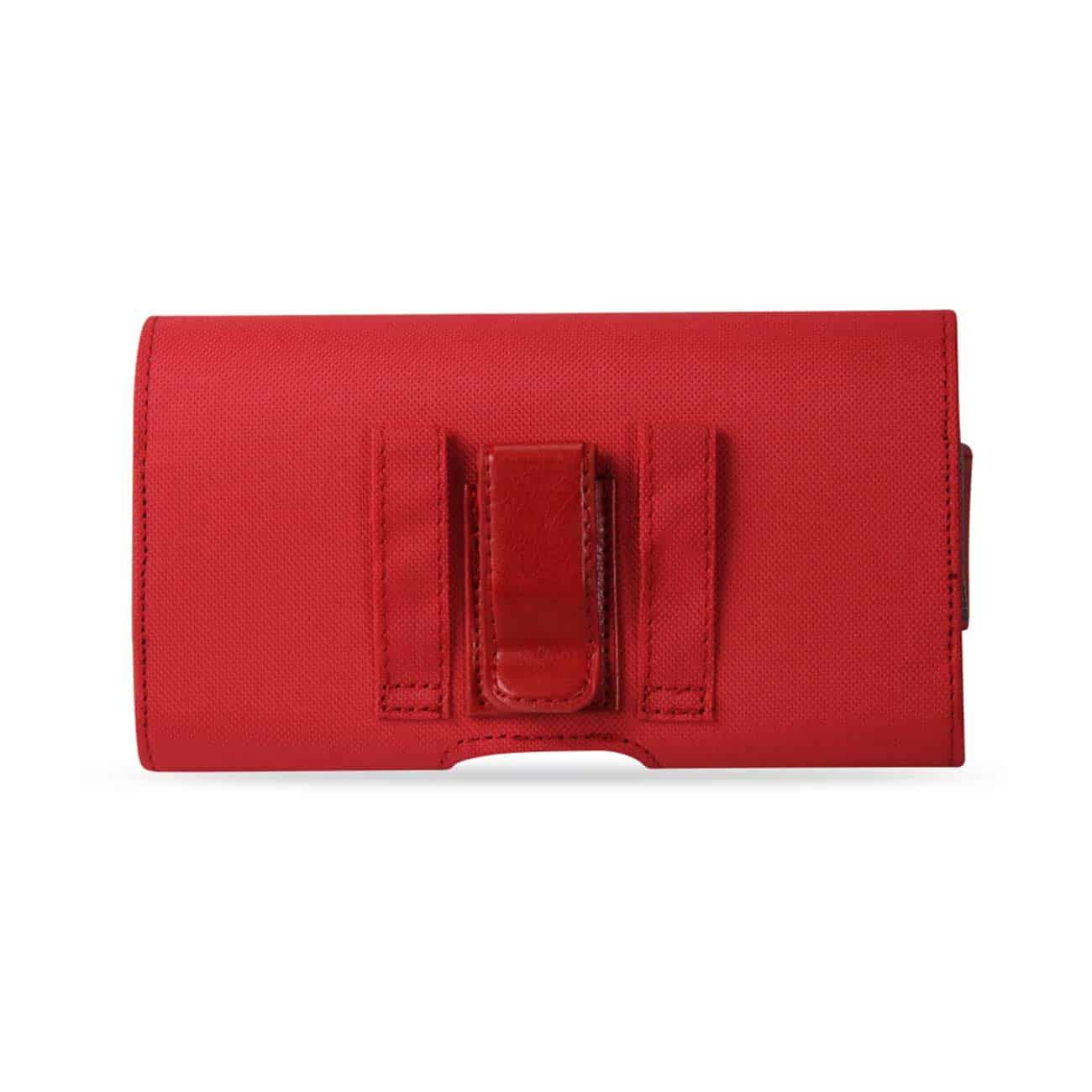 HORIZONTA RUGGED POUCH SAMSUNG GALAXY S5/ SM-G900A/ G900V/ G9 0P/ G900T/ G900M/ G900R4 PLUS RED
