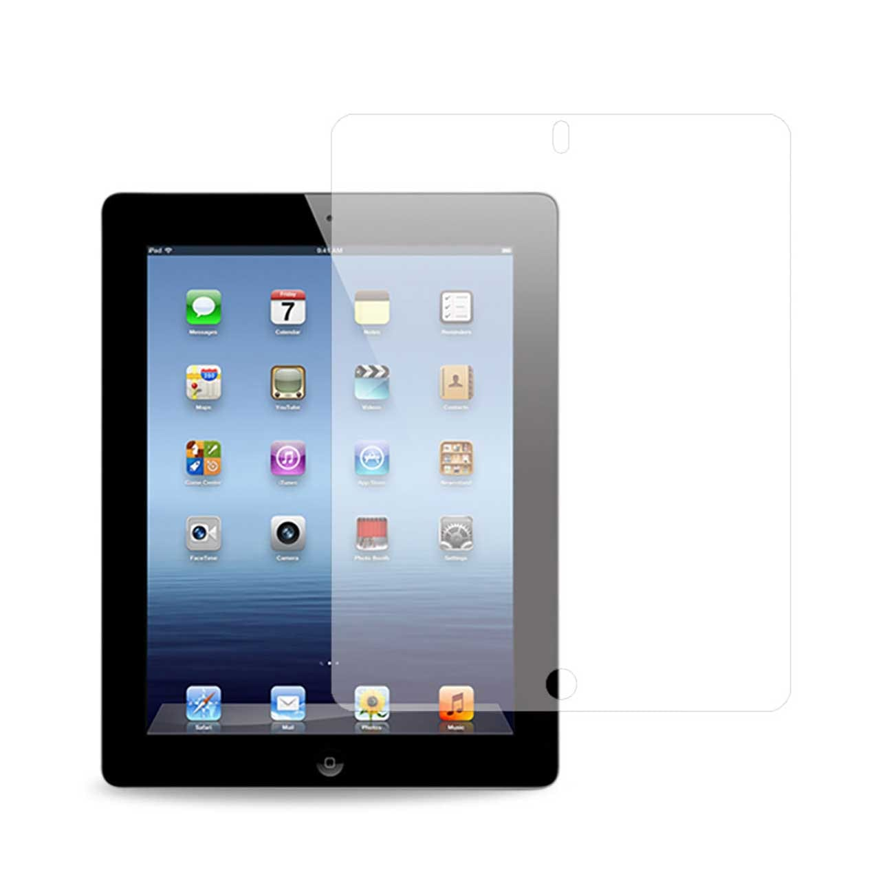 IPAD 3 CLEAR SCREEN PROTECTOR IN CLEAR