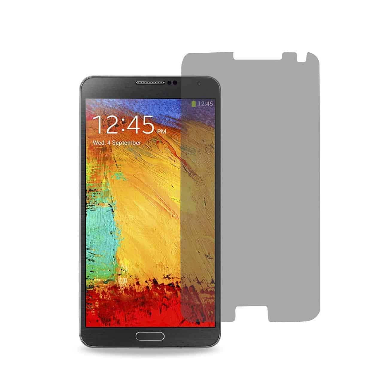 SAMSUNG GALAXY NOTE 3 PRIVACY SCREEN PROTECTOR IN CLEAR