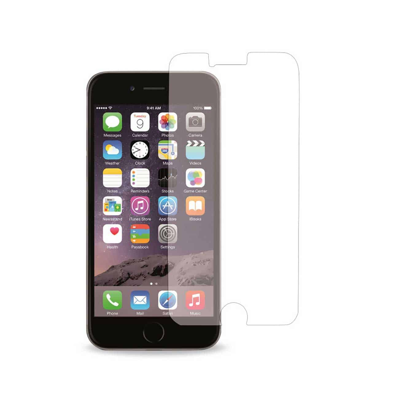 IPHONE 6 PLUS TWO PIECES SCREEN PROTECTOR IN CLEAR