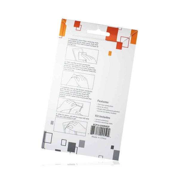 SAMSUNG GALAXY PREVAIL TWO PIECES SCREEN PROTECTOR IN CLEAR