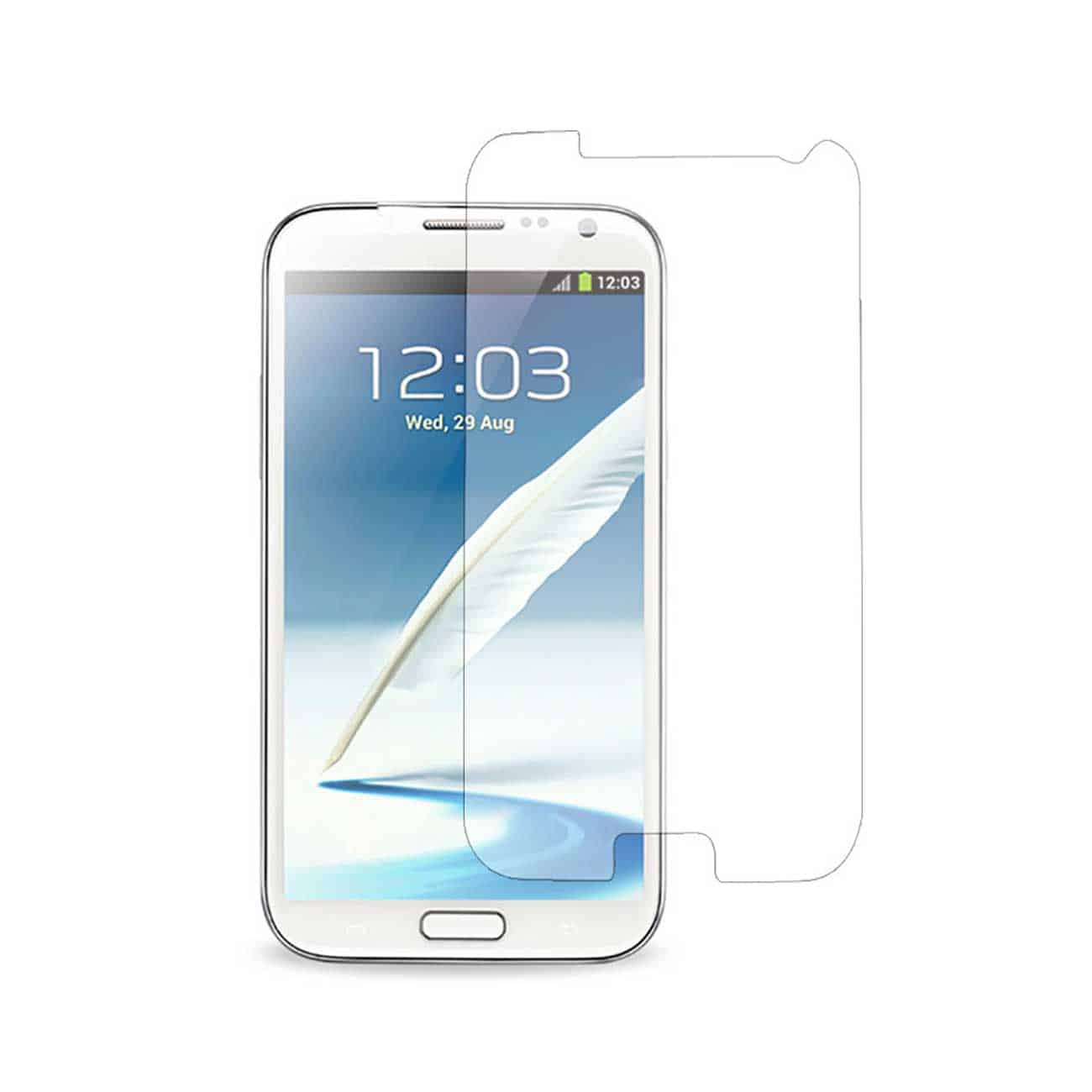 SAMSUNG GALAXY NOTE 2 TWO PIECES SCREEN PROTECTOR IN CLEAR