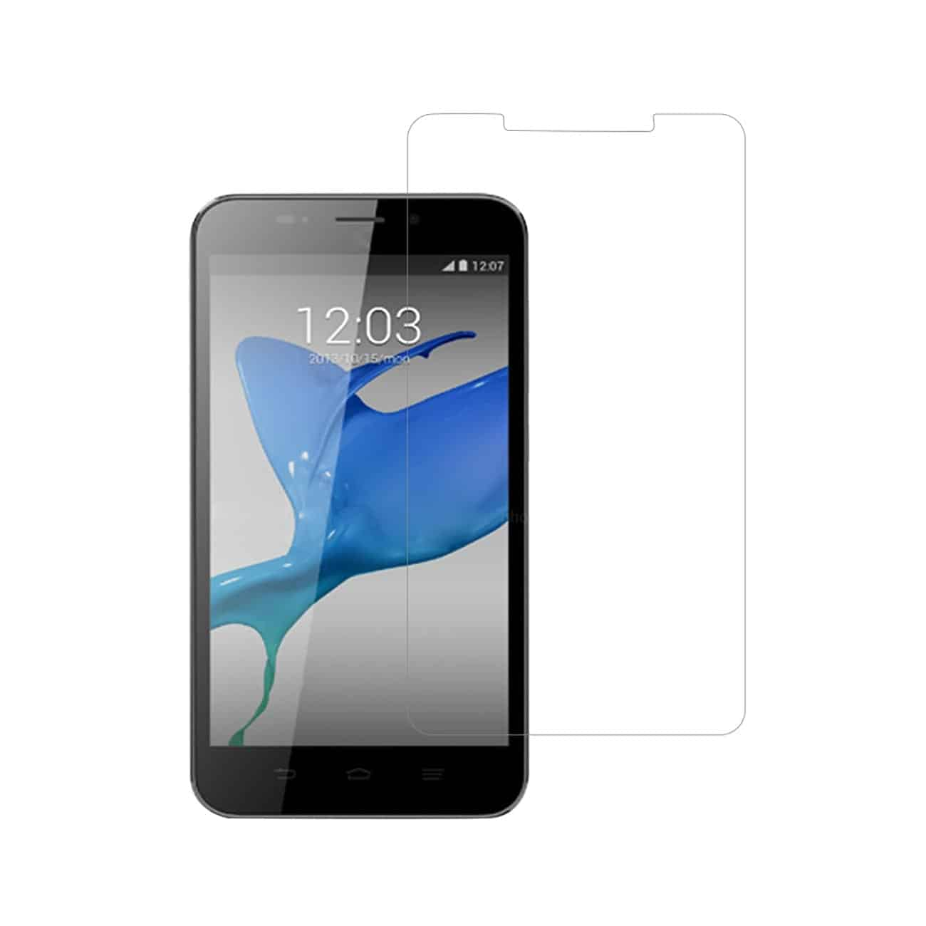 ZTE QUARTZ TWO PIECES SCREEN PROTECTOR IN CLEAR