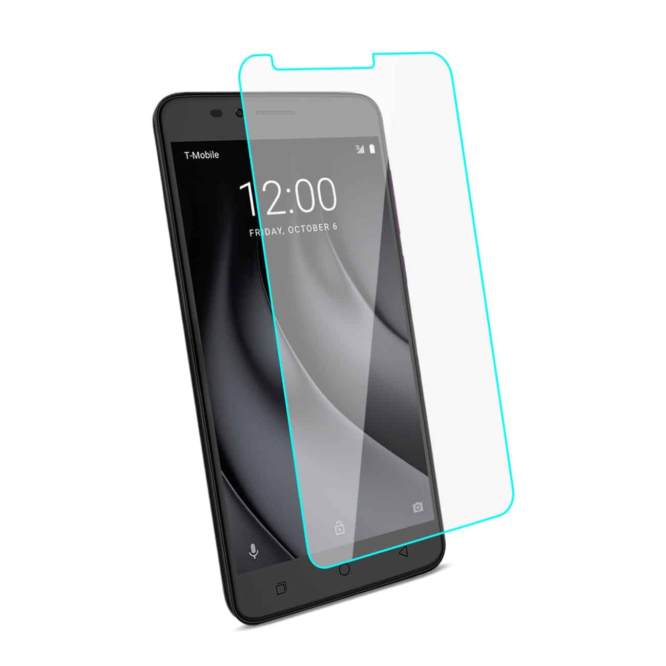 Coolpad REVVL Plus Tempered Glass Screen Protector In Clear
