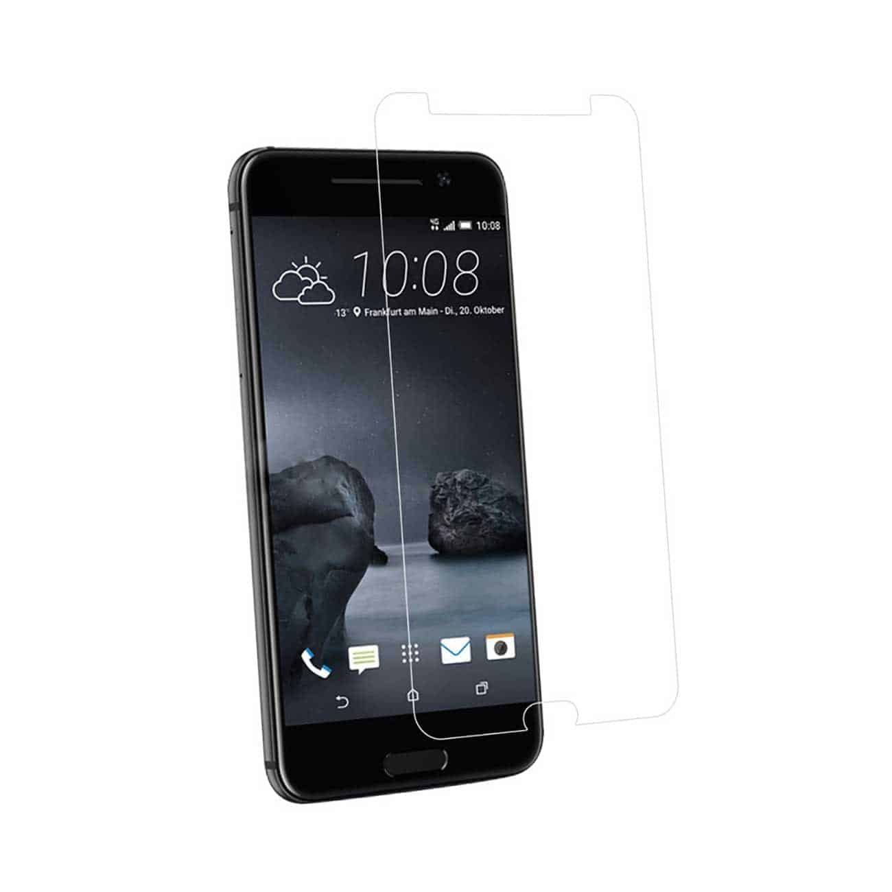 HTC ONE A9 TEMPERED GLASS SCREEN PROTECTOR IN CLEAR