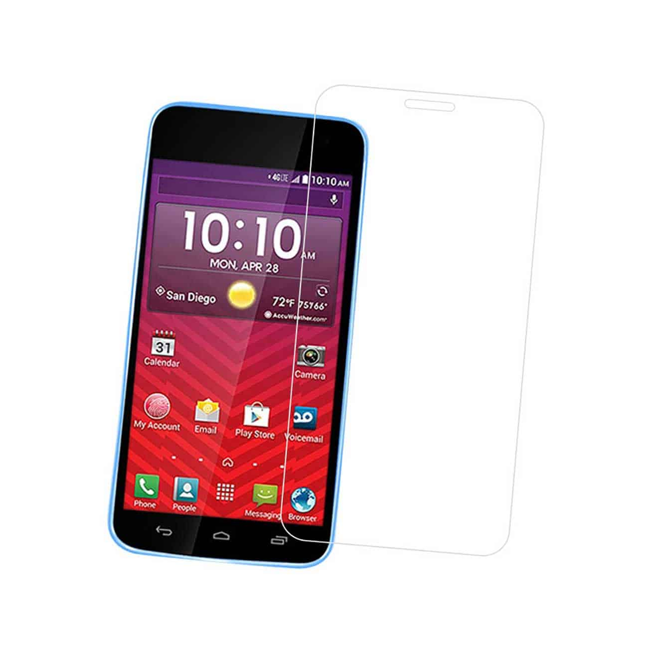 KYOCERA HYDRO WAVE TEMPERED GLASS SCREEN PROTECTOR IN CLEAR
