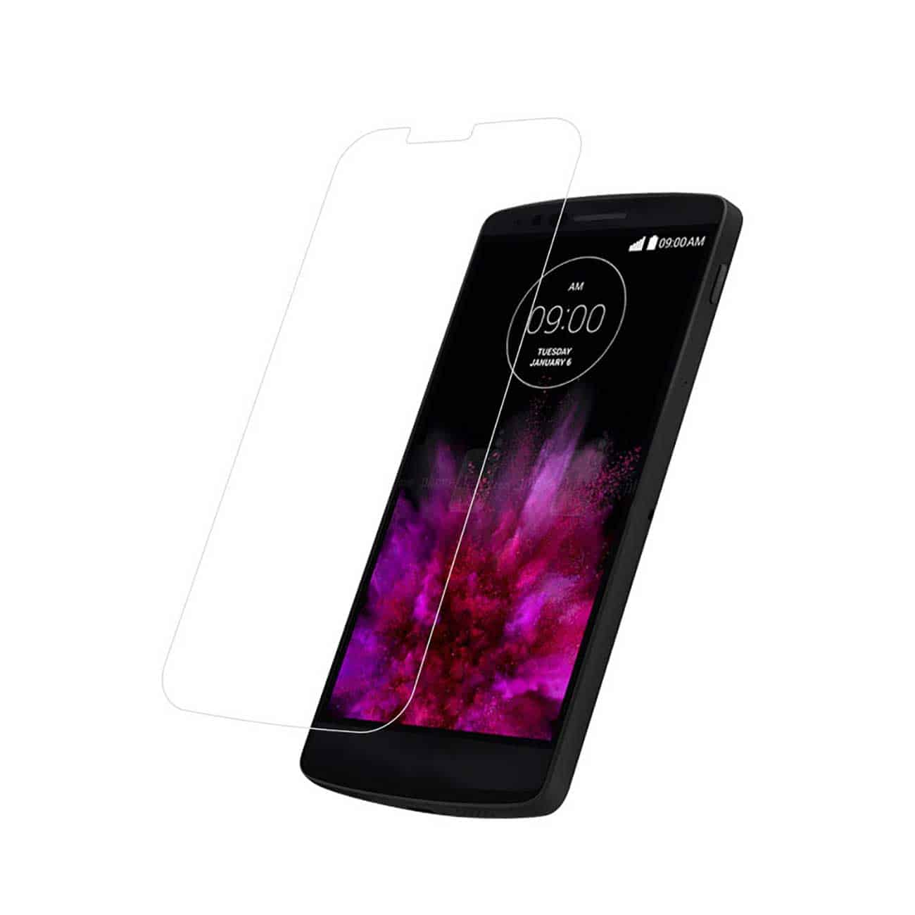 LG G FLEX 2 TEMPERED GLASS SCREEN PROTECTOR IN CLEAR
