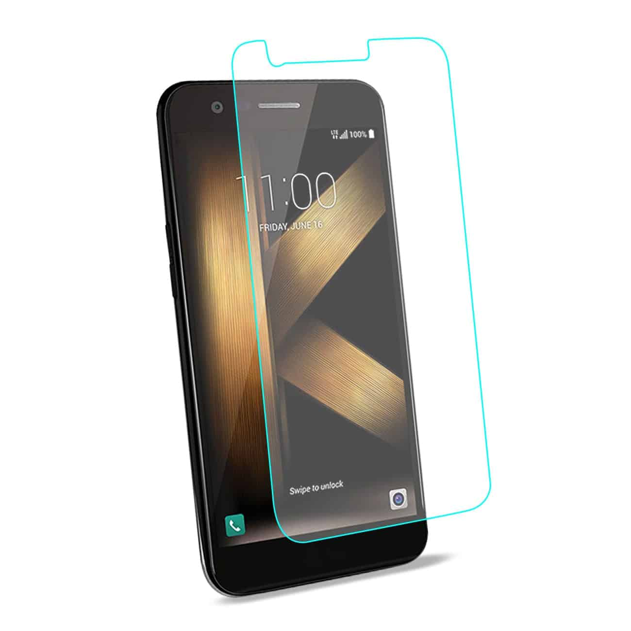 LG K20 V/ K20 Plus Tempered Glass Screen Protector In Clear