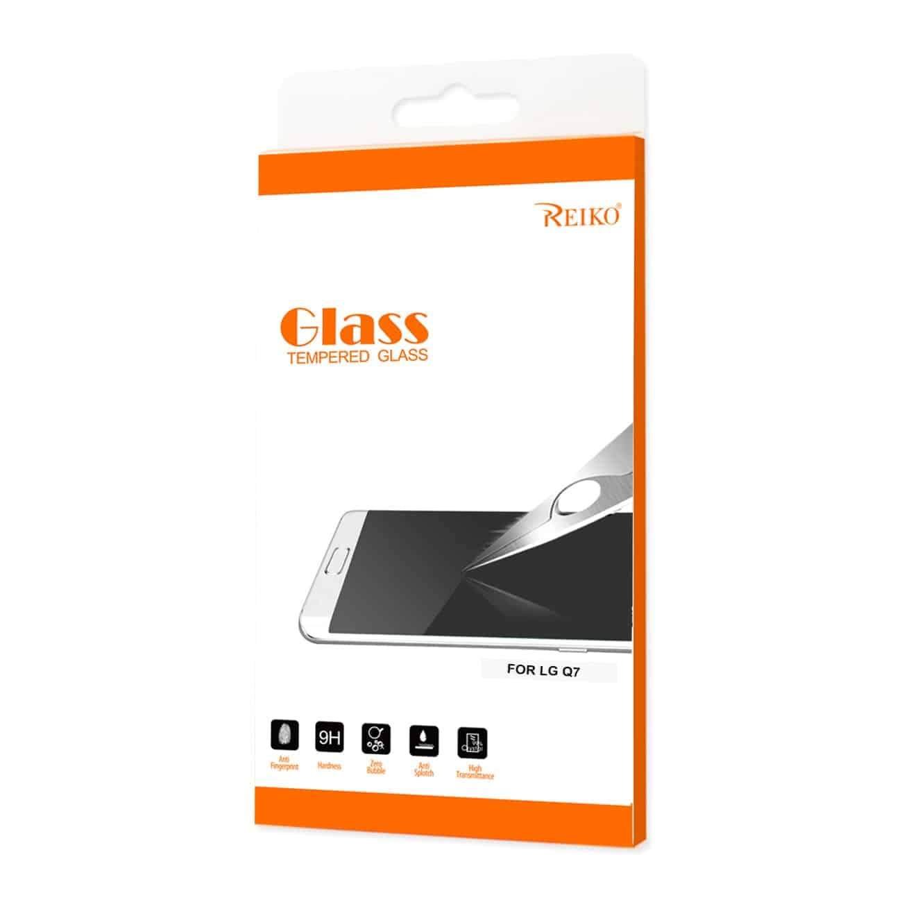 LG Q7 Lite Tempered Glass Screen Protector In Clear