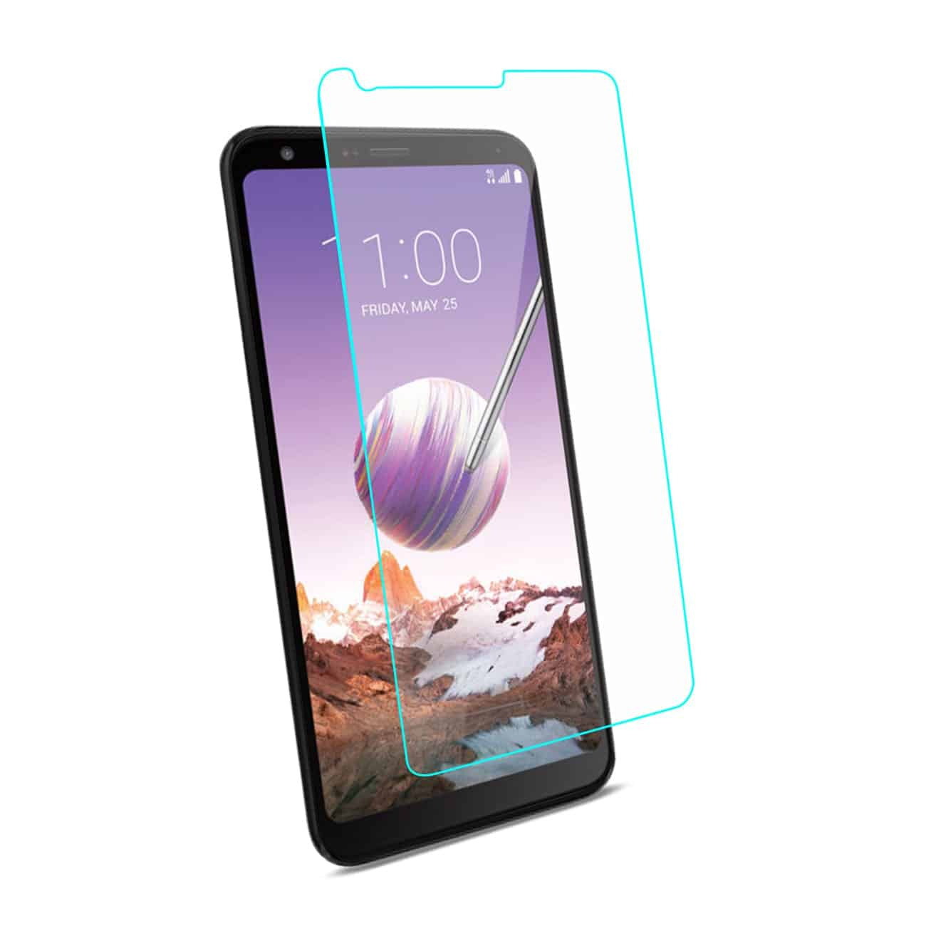 LG STYLO 4 Tempered Glass Screen Protector In Clear