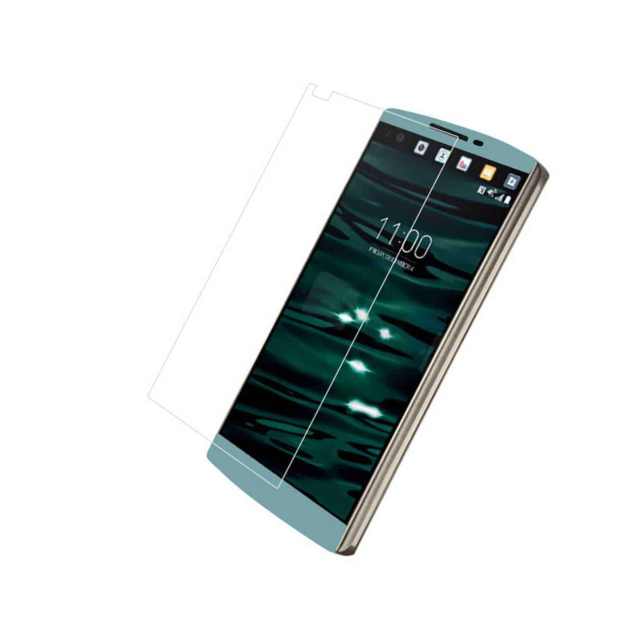 LG V10 TEMPERED GLASS SCREEN PROTECTOR IN CLEAR
