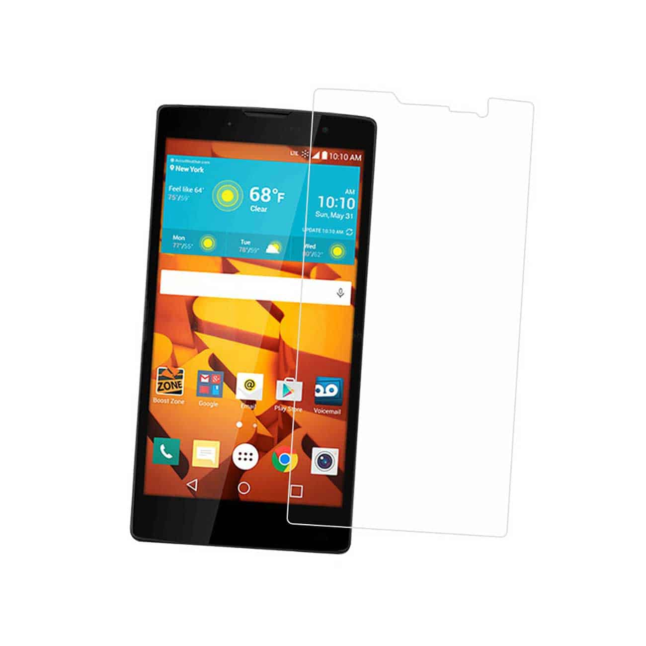 LG VOLT 2 TEMPERED GLASS SCREEN PROTECTOR IN CLEAR