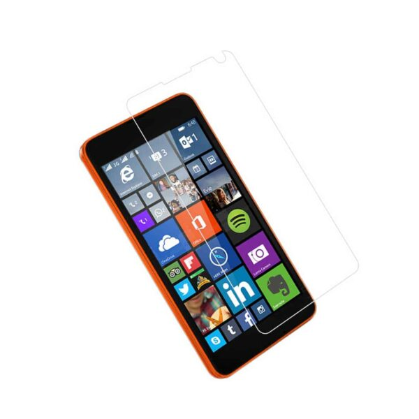 NOKIA LUMIA 640 TEMPERED GLASS SCREEN PROTECTOR IN CLEAR