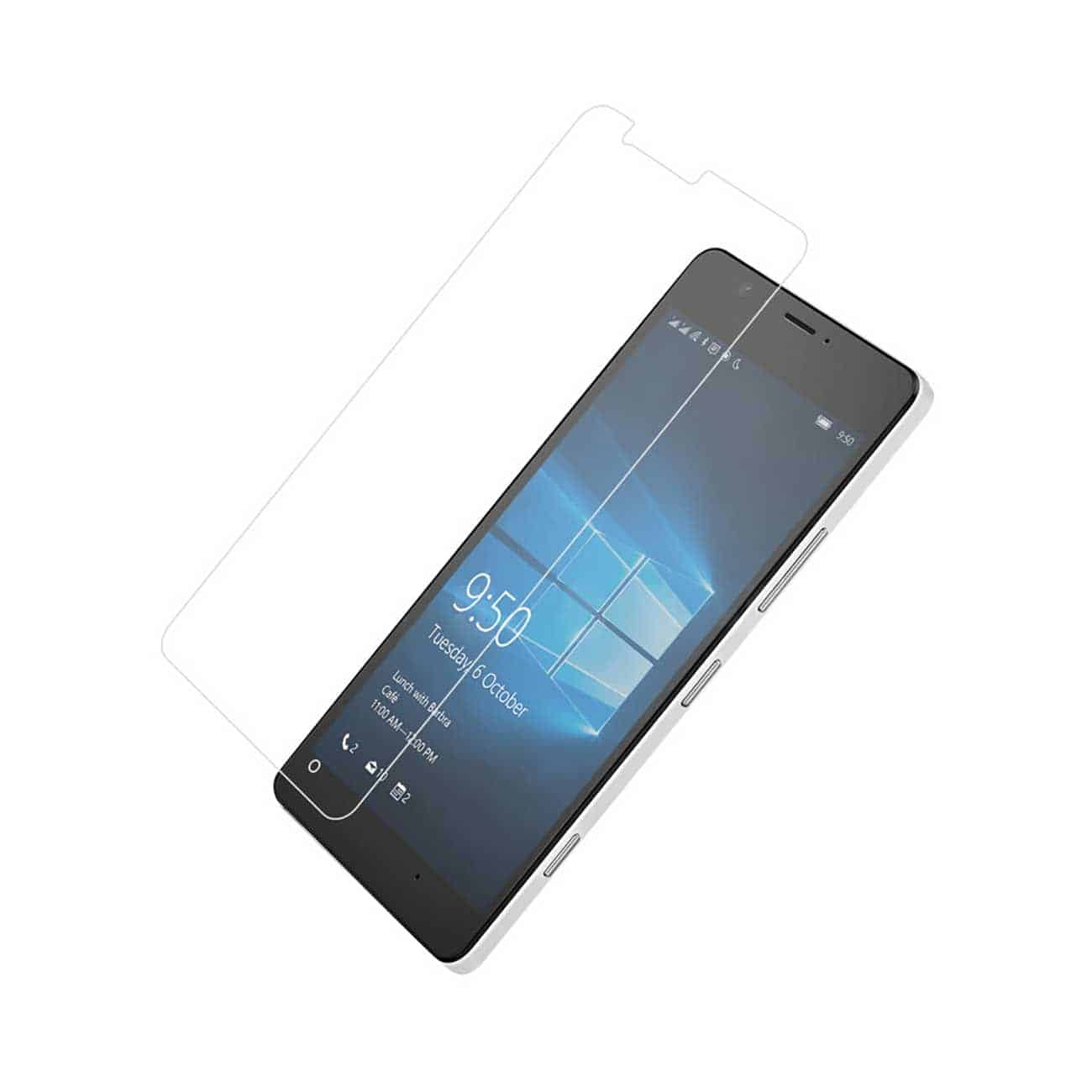 NOKIA LUMIA 950 TEMPERED GLASS SCREEN PROTECTOR IN CLEAR