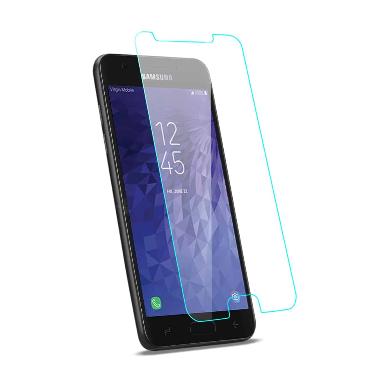 SAMSUNG GALAXY J3 (2018) Lite Tempered Glass Screen Protector In Clear