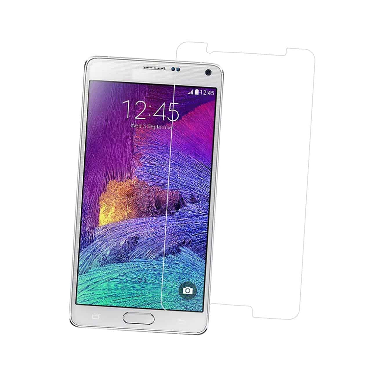 SAMSUNG GALAXY NOTE 5 TEMPERED GLASS SCREEN PROTECTOR IN CLEAR