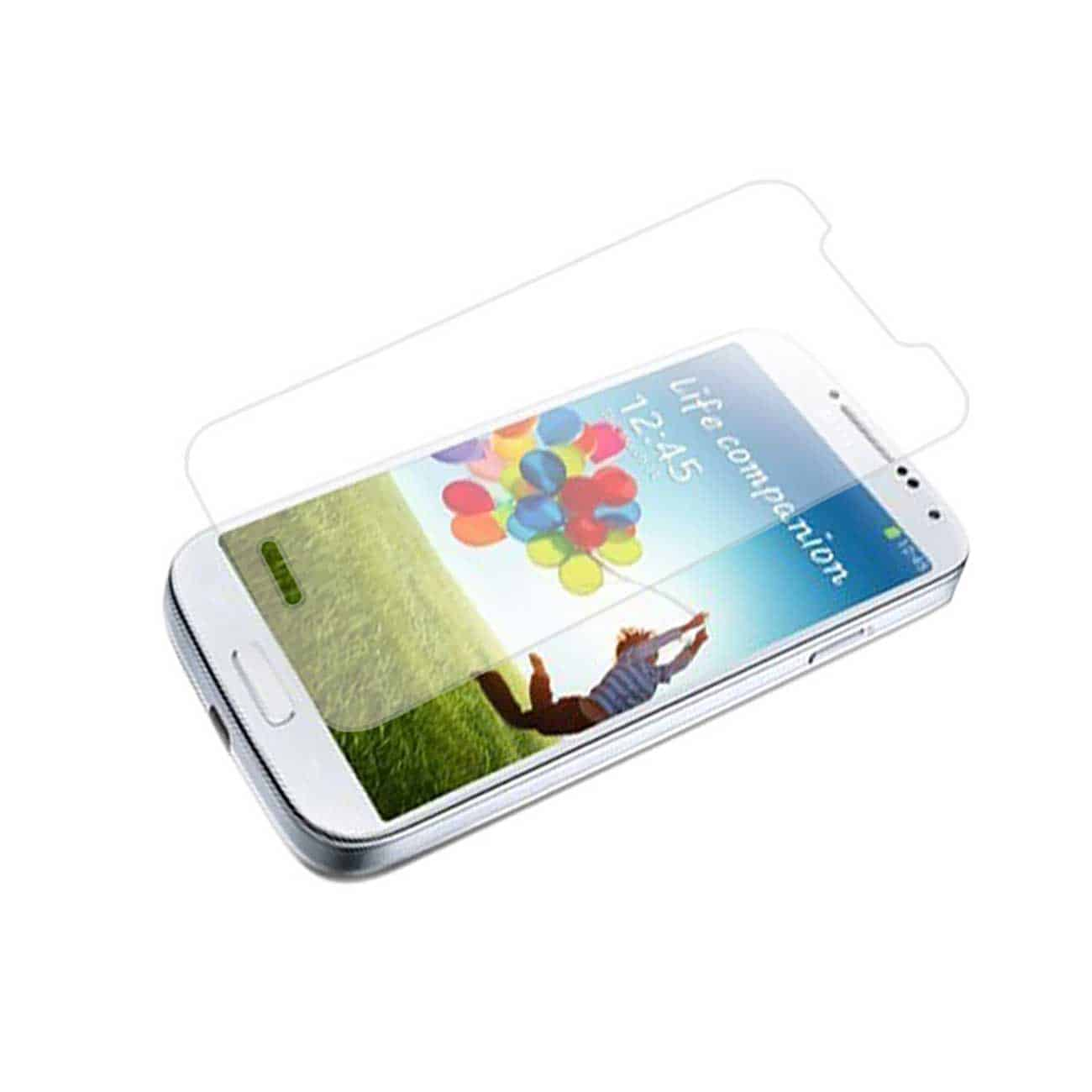 SAMSUNG GALAXY S4 TEMPERED GLASS SCREEN PROTECTOR IN CLEAR