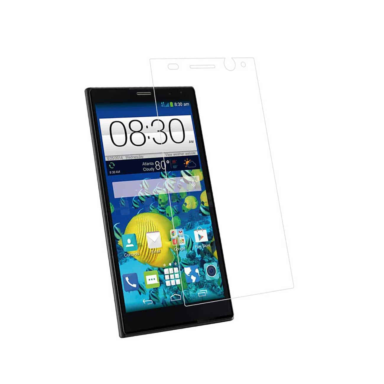 ZTE GRAND X MAX TEMPERED GLASS SCREEN PROTECTOR IN CLEAR