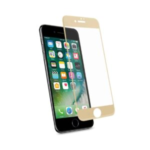 IPHONE 7 3D CURVED FULL COVERAGE TEMPERED GLASS SCREEN PROTECTOR IN GOLD