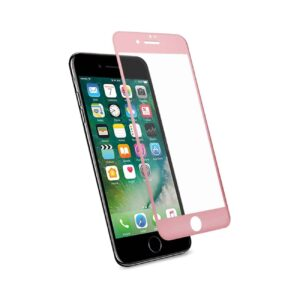 IPHONE 7 3D CURVED FULL COVERAGE TEMPERED GLASS SCREEN PROTECTOR IN ROSE GOLD