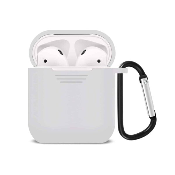 Silicone Case for Airpods in White
