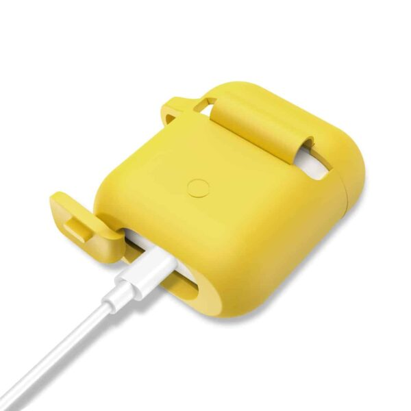Silicone Case for Airpods in Yellow