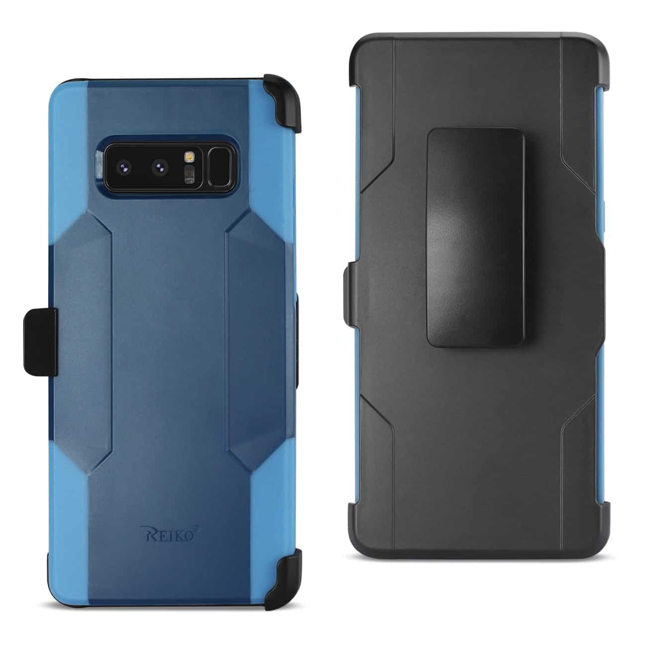 SAMSUNG NOTE 8 3-IN-1 HYBRID HEAVY DUTY HOLSTER COMBO CASE IN NAVY