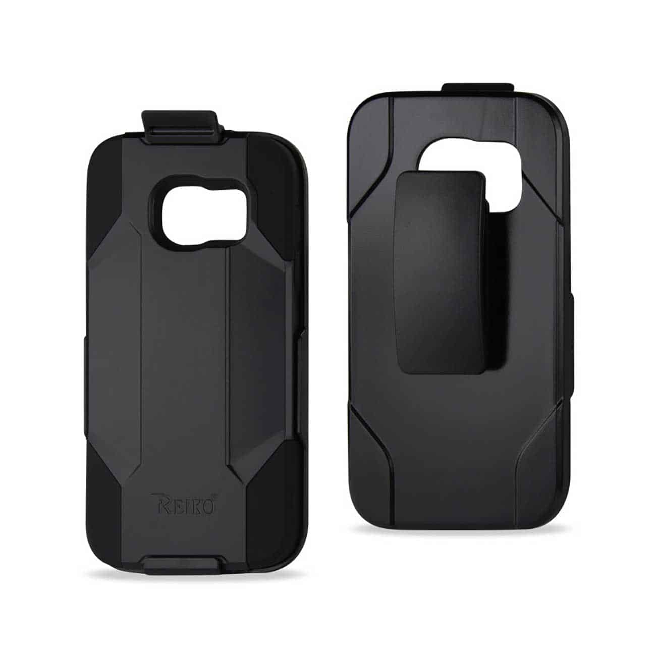 SAMSUNG GALAXY S7 HYBRID HEAVY DUTY HOLSTER COMBO CASE IN BLACK