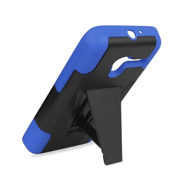 ALCATEL ONETOUCH PIXI 3 HYBRID HEAVY DUTY CASE WITH KICKSTAND IN NAVY BLACK