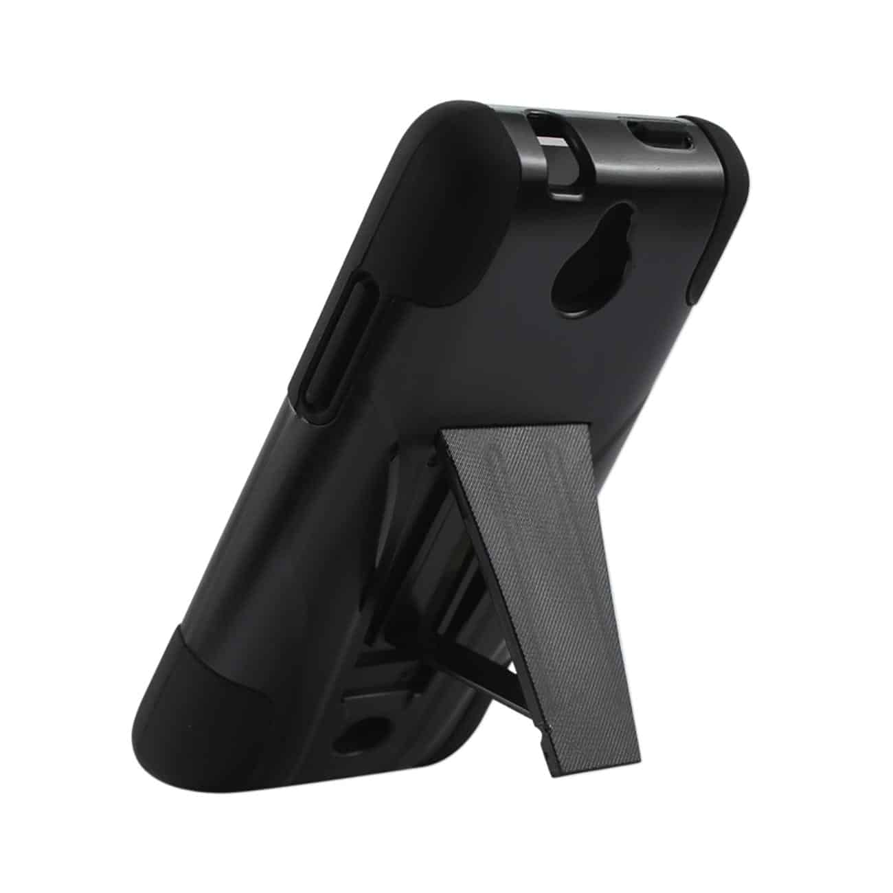 HUAWEI VALIANT HYBRID HEAVY DUTY CASE WITH KICKSTAND IN BLACK