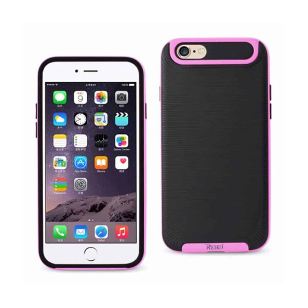 IPHONE 6/6S PLUS SLIM ARMOR CASE WITH BUMPER FRAMES IN BLACK PINK