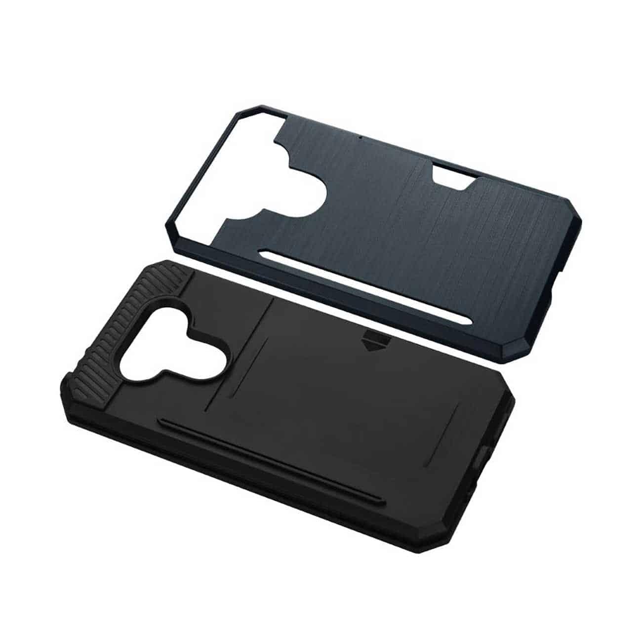 LG G5 SLIM ARMOR HYBRID CASE WITH CARD HOLDER IN NAVY