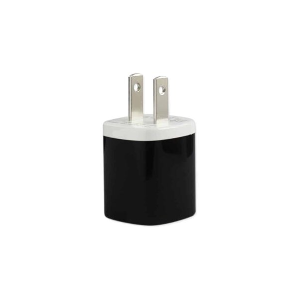 1 AMP WALL USB TRAVEL ADAPTER CHARGER IN BLACK
