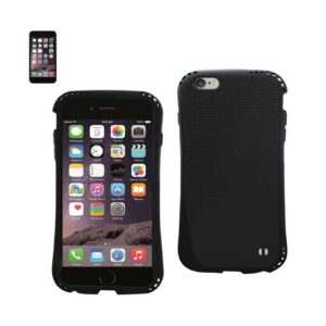 IPHONE 6 PLUS DROPPROOF AIR CUSHION CASE WITH CHAIN HOLE IN BLACK