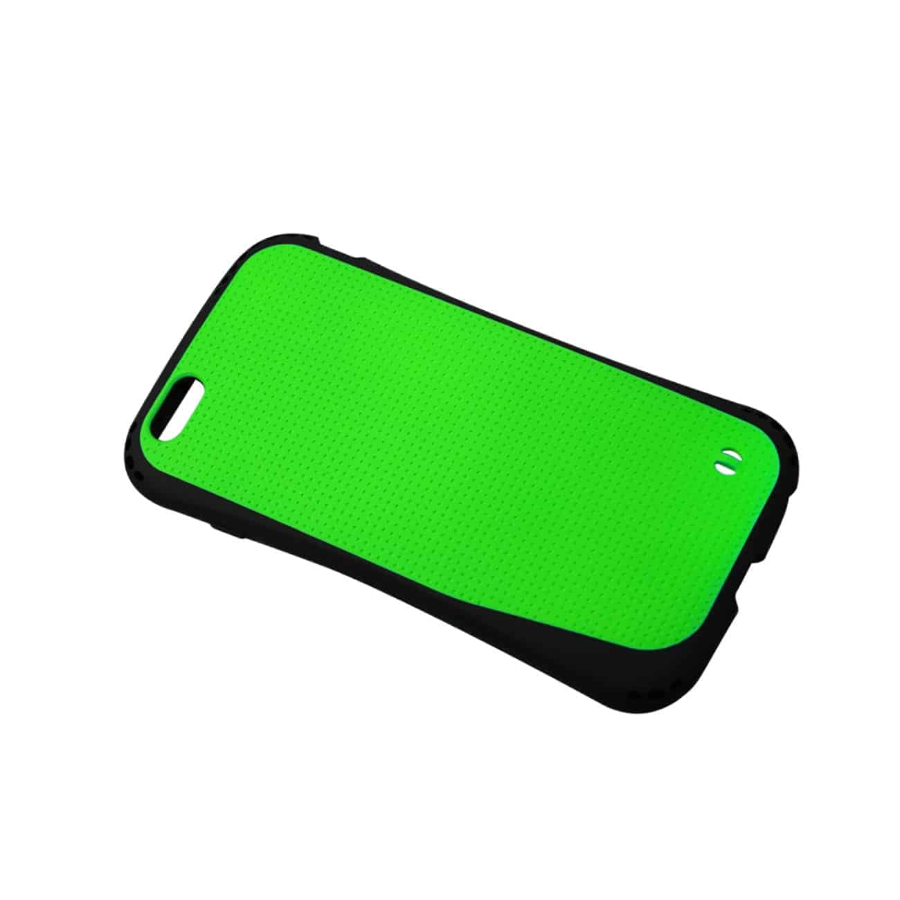 IPHONE 6 PLUS DROPPROOF AIR CUSHION CASE WITH CHAIN HOLE IN GREEN