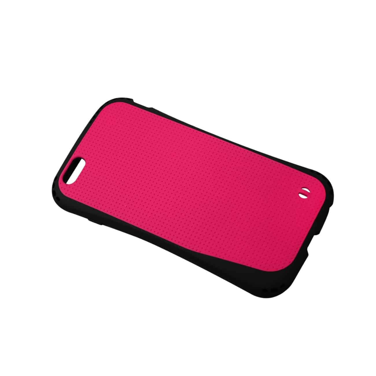 IPHONE 6 PLUS DROPPROOF AIR CUSHION CASE WITH CHAIN HOLE IN HOT PINK