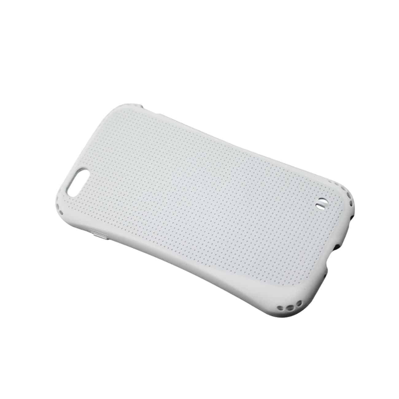 IPHONE 6 PLUS DROPPROOF AIR CUSHION CASE WITH CHAIN HOLE IN WHITE